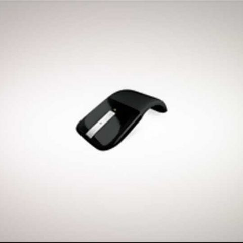 Microsoft Arc Touch Mouse sends lesser mice scurrying, plays a fashionable Pied Piper