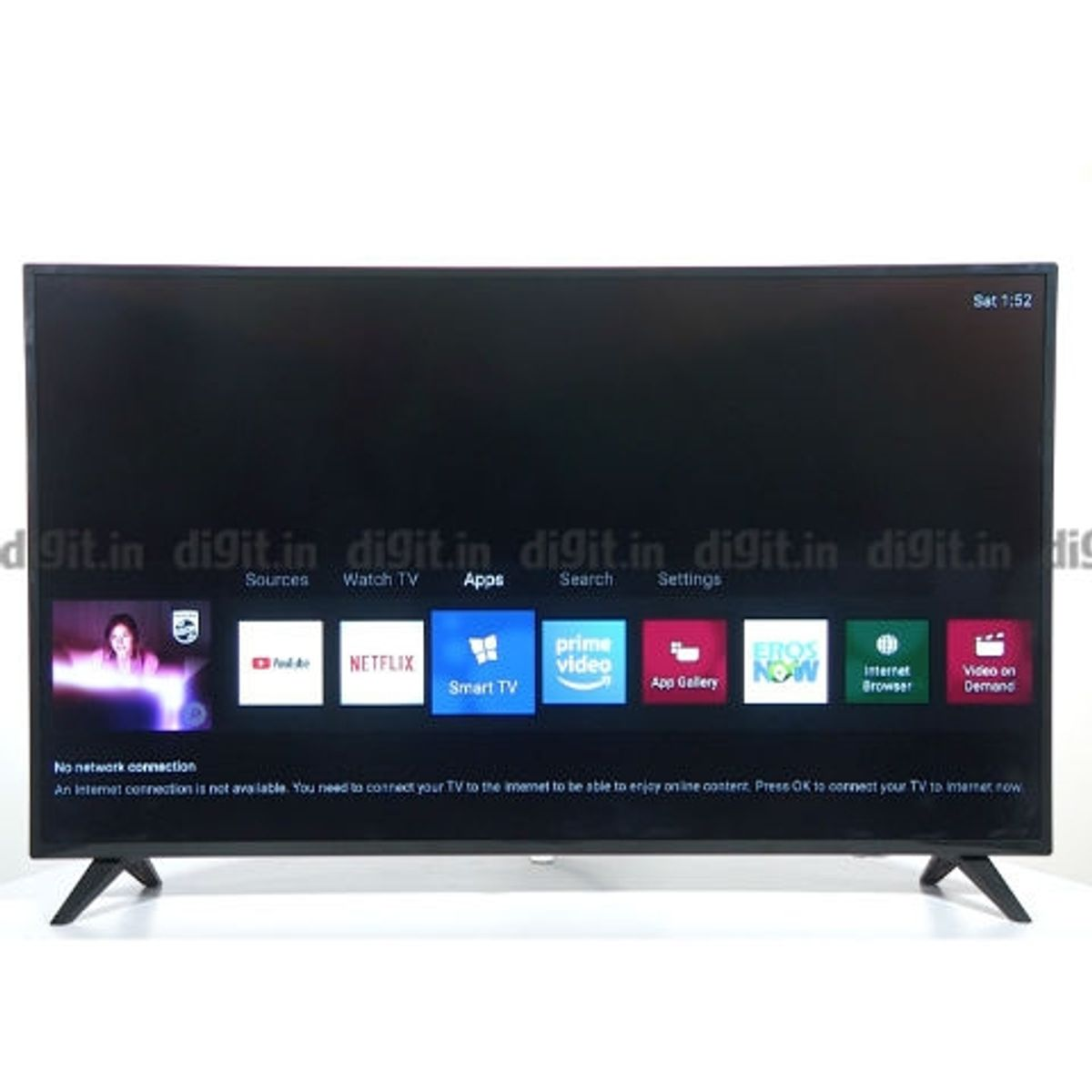 Philips 55 inches 4K Ultra Slim Smart LED TV Review