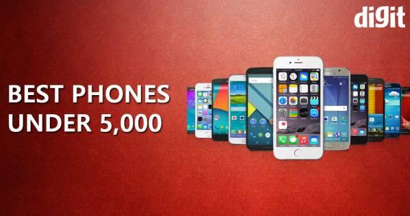 ৫০০০ টাকার কমে ভারতে ১০টি সেরা স্মার্টফোন