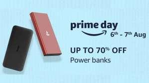 Amazon Prime Day 2020 Sale: Best deals on power banks