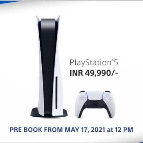 Sony PS5 available for pre-booking from May 17