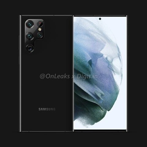 Exclusive: Samsung Galaxy S22 Ultra renders with S Pen and quad camera break cover