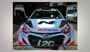 A look at Hyundai i20 WRC at Auto Expo 2014