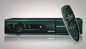 ৰিলায়েন্স Digital TV - DTH and HD-DVR