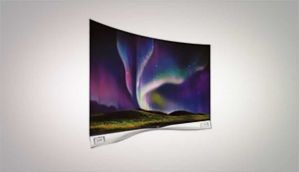 एलजी 55EA9800 curved OLED टीवी