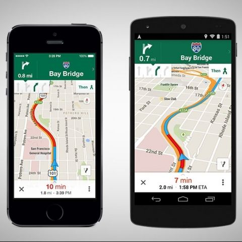 Google Maps for iOS, Android update brings lane guidance, offline support and more