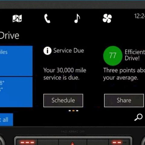 Microsoft unveils Windows in the Car, competes with Apple's CarPlay