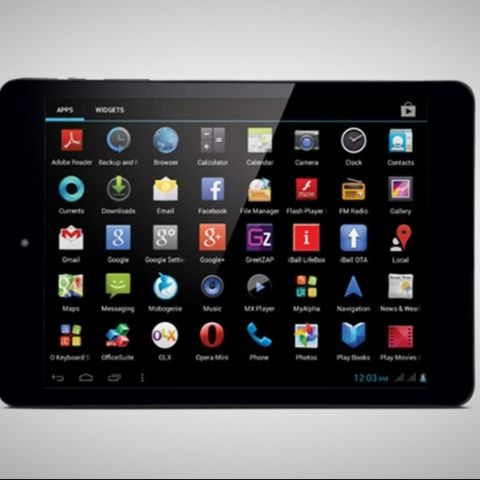 iBall Slide 3G 7803Q-900, dual-SIM quad-core tablet launched at Rs. 13,999