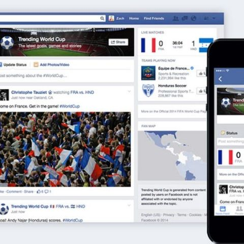Facebook, Twitter get ready for FIFA World Cup