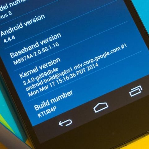 Google quietly releases Android 4.4.4 KitKat update for Nexus devices