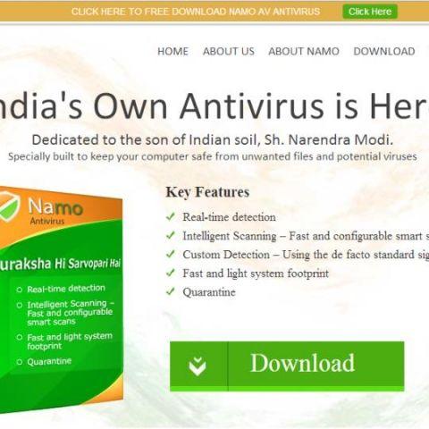 Now, 'Namo' anti-virus software to protect PCs