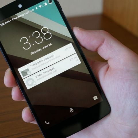 Android L will let you shoot RAW images with your smartphones