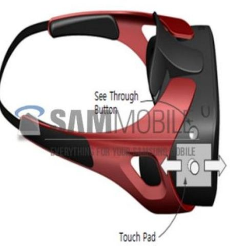Samsung Gear VR virtual reality headset images leaked