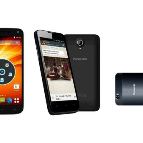 Panasonic T41, P41 and P61 KitKat smartphones launched