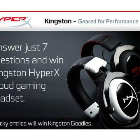 """Participate in Kingston's """"Geared for Performance"""" Contest, win cool goodies"""