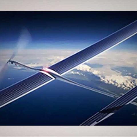Google will soon beam internet from solar-powered drones, just like Facebook