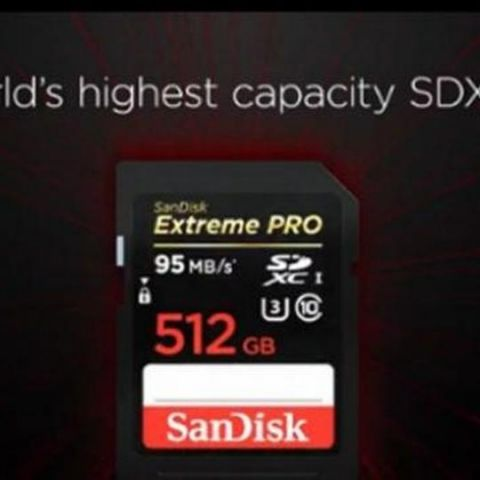 SanDisk launches 512GB SD card in India for Rs 51,990