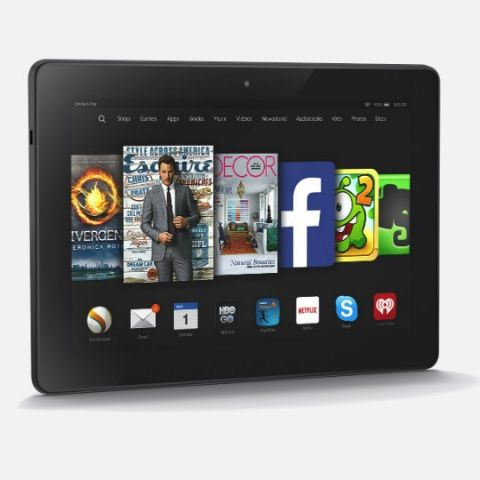 A look at Amazon's new Kindle Fire tablets & Kindle Voyager