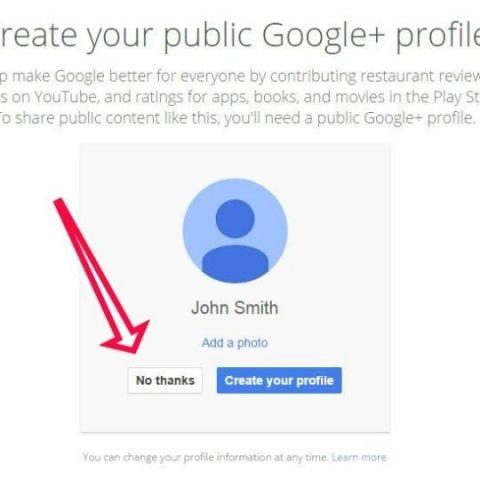 Google stops pushing Google+ accounts on new users