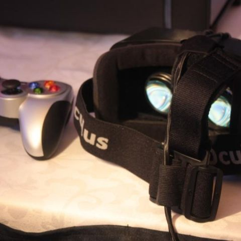 A date with the Oculus Rift
