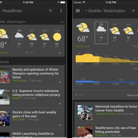 Google launches News & Weather app on iOS