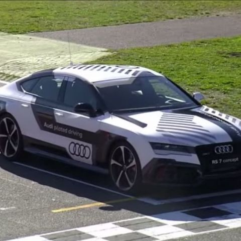Audi creates history with driverless car that can reach racing speeds