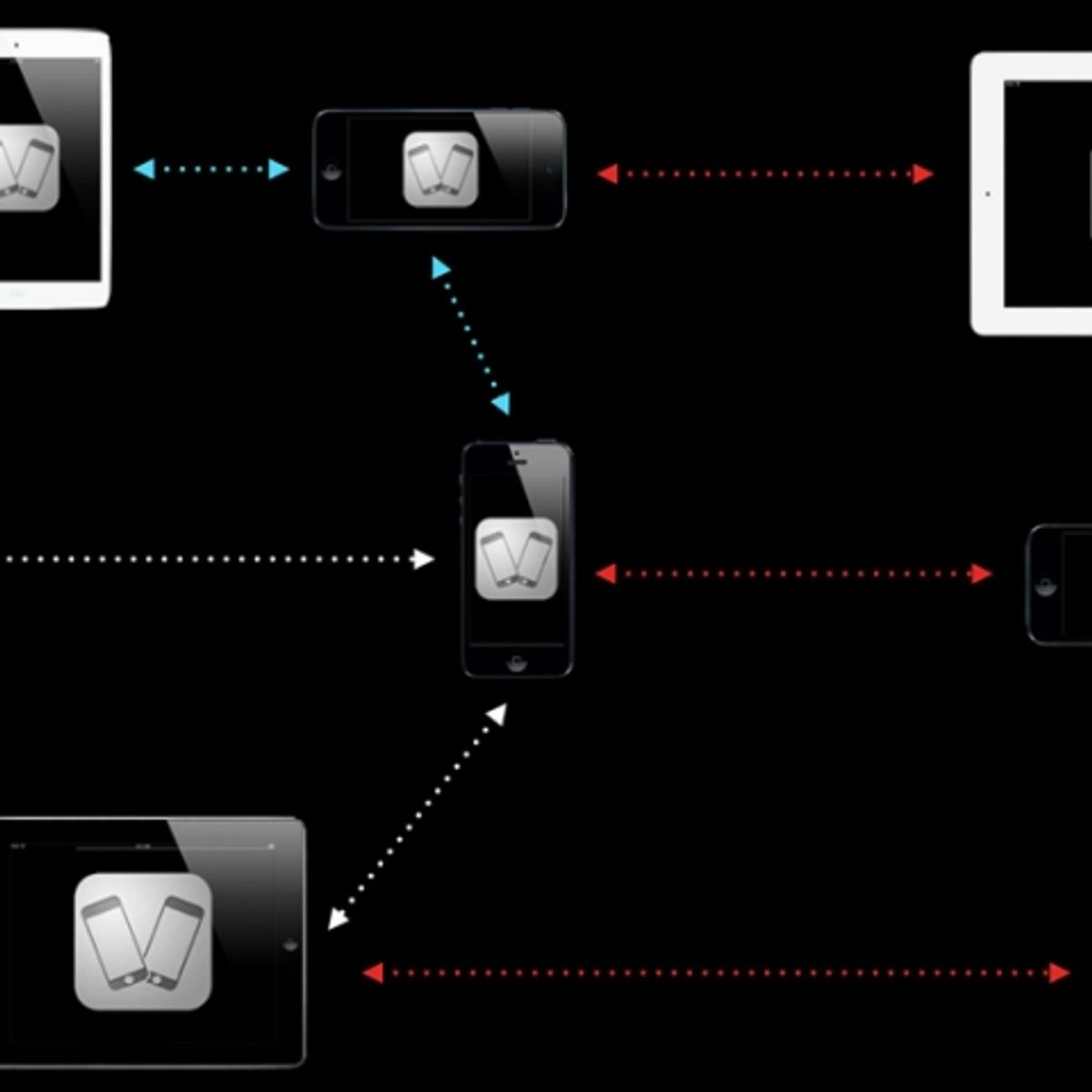 How to setup the peer to peer connection between two Android