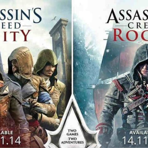 Assassin's Creed Unity and Rogue will launch on Nov. 13 in India