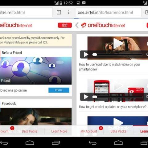 Airtel launches 'One Touch Internet' WAP portal