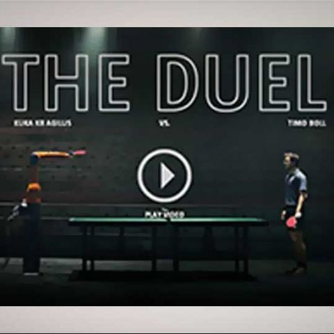World's 8th best player beats world's fastest robot in Table Tennis match