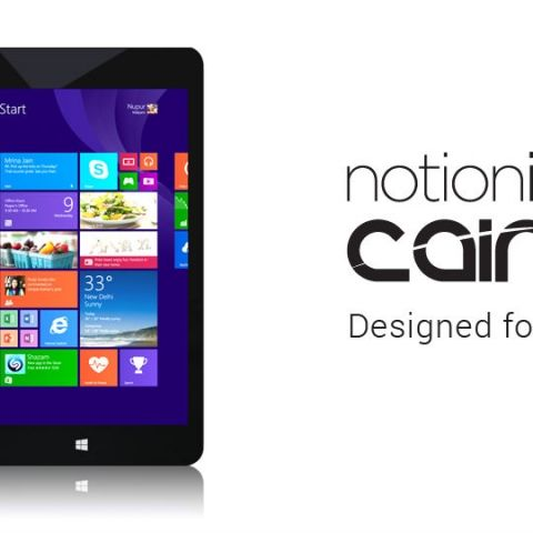 Notion Ink launches 8-inch Windows 8.1 tablet for Rs. 9,990