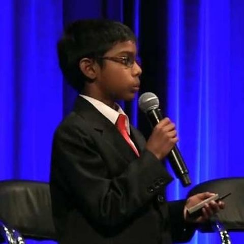 8-year-old Indian-origin CEO to address cyber security summit