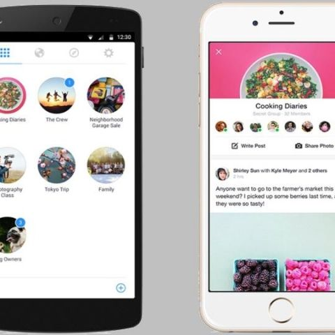 Facebook introduces new standalone 'Groups' app