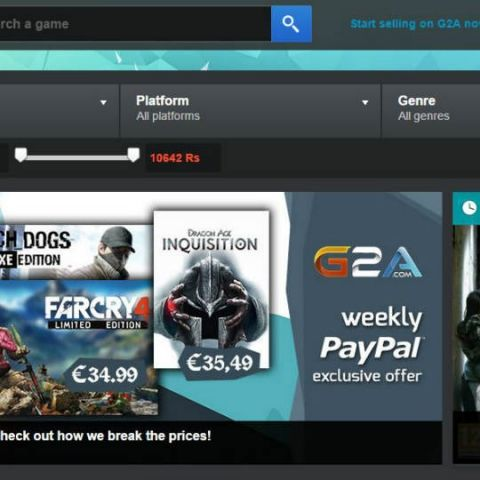 G2A: an 'unknown' site with killer deals on PC games