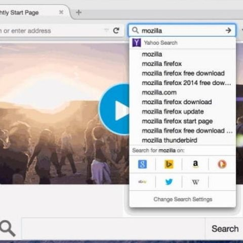 Mozilla Firefox will now let you search websites with just one click