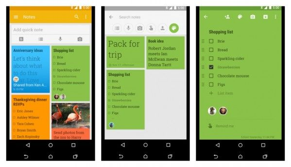 Google reportedly renaming Keep to Keep Notes