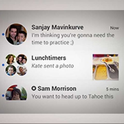 Google Hangouts for iOS gets visual refresh, video messages and stickers