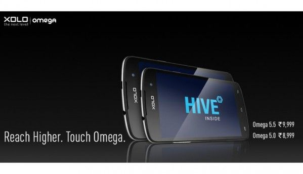 Xolo Omega 5.0 and Omega 5.5 smartphones launched in India
