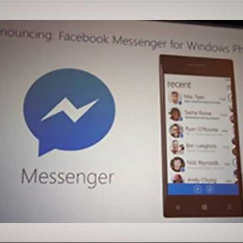 Facebook Messenger coming soon for Windows Phone