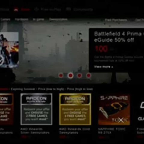 AMD launches Rewards program for Gaming Evolved app