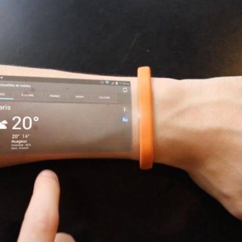 Cicret bracelet will turn your arm into a tablet