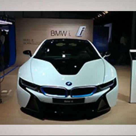 BMW i8 - Car Tech at the Auto Expo 2014