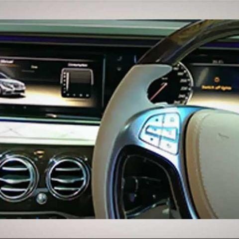 Mercedes Benz S-Class: Car Tech at the Auto Expo 2014