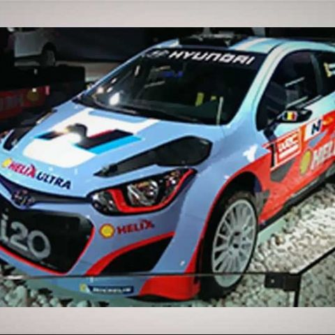 Hyundai i20 WRC: Car Tech at Auto Expo 2014
