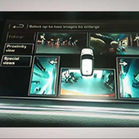 Range Rover Sport HSE: Tech at Auto Expo 2014