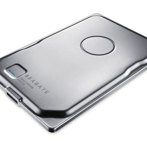 CES 2015: Seagate shows off sleek stainless steel drive for $100