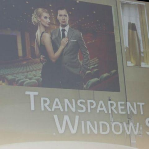CES 2015: Panasonic announces transparent window displays