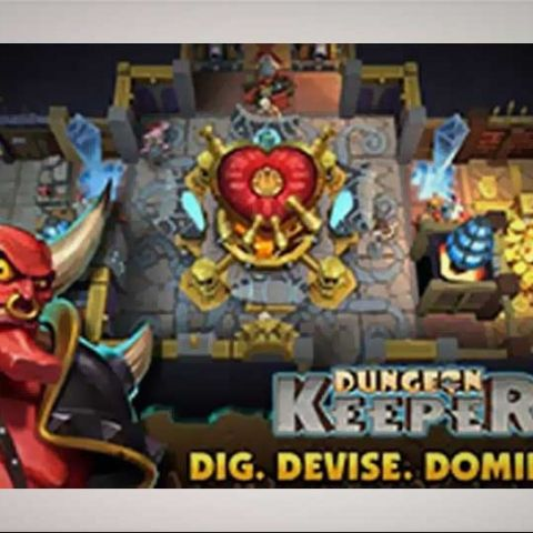 EA launches Dungeon Keeper for Android and iOS