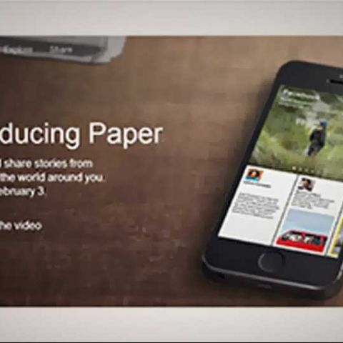 Facebook unveils 'Paper', a Flipboard-like social news reader and aggregator app