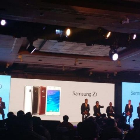 Samsung Z1, Tizen-based smartphone launched in India at Rs. 5,700